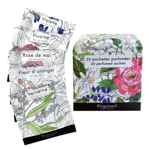 Set of 20 Perfumed Sachets