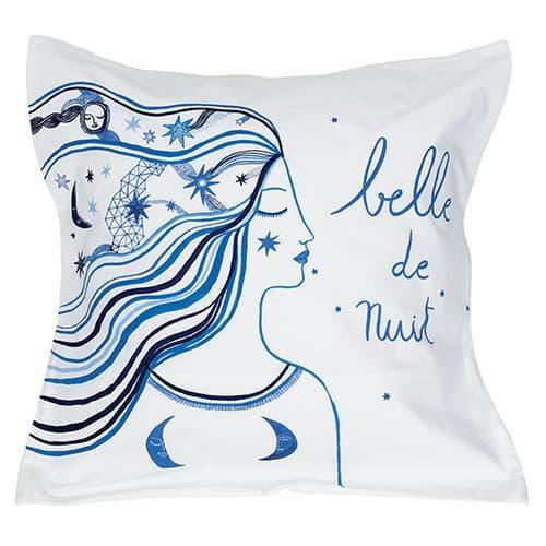 2 Taies d' oreiller Belle De Jour Nuit