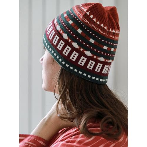 Orange Sami Winter Cap
