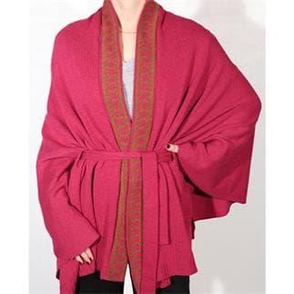 Kimono Luxe Jacquard Rosa