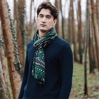 Green Lappi Shawl