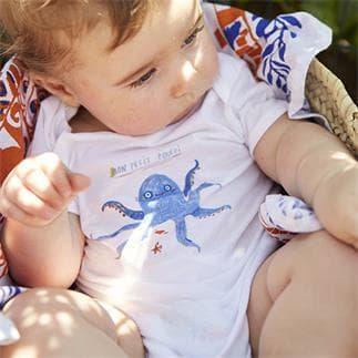 Bodi bébé petit Poulpi 2