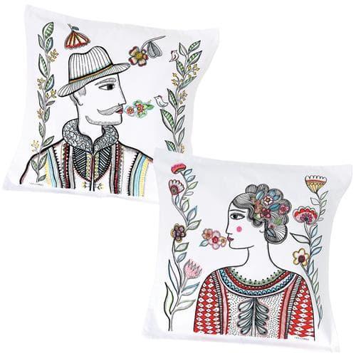 Set of 2 Timea pillowcases