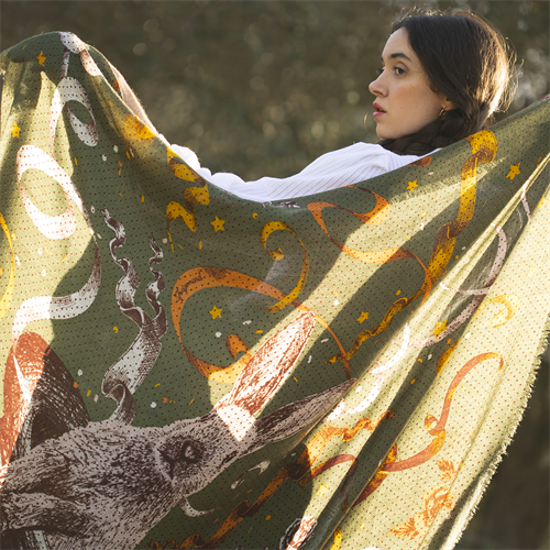 Magicien shawl